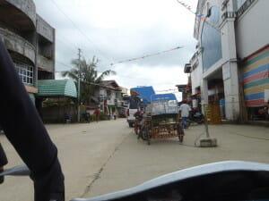 Street view of Davao, Siargoa Island