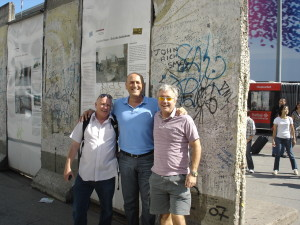 Berlin Wall with Frank and Alex