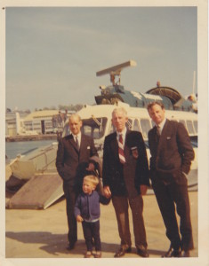 Hovercraft with Grandad1968